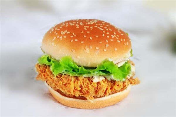 开一个炸鸡汉堡店赚钱吗