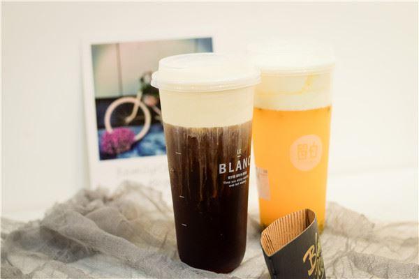 留白奶茶加盟