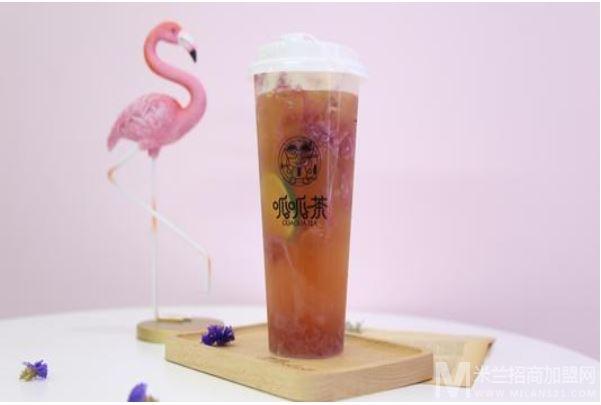 呱呱茶加盟