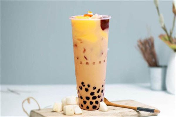 百果鲜奶茶加盟
