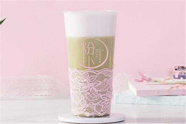 一粉扑奶茶加盟