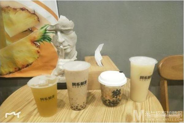 阿乐制茶加盟