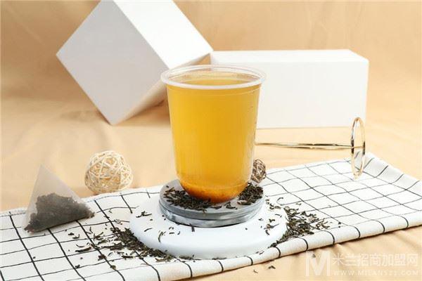 苔饮奶茶加盟
