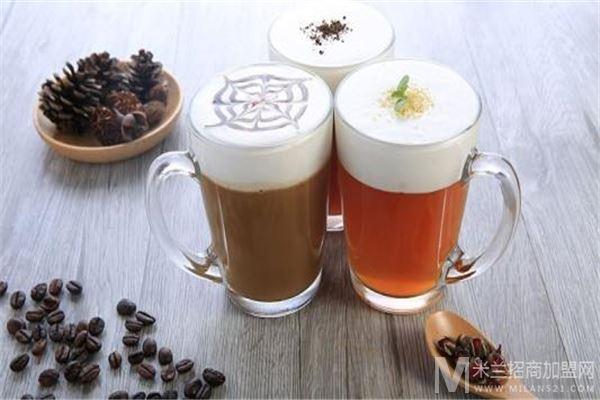 钟村比卡茶林奶茶店加盟
