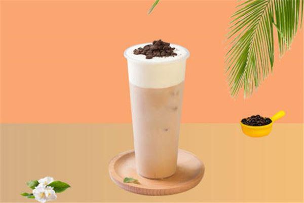 黑小黑奶茶加盟