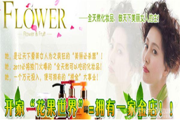 花果世界化妆品加盟