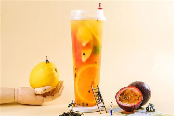 茶咖饮奶茶时尚店加盟